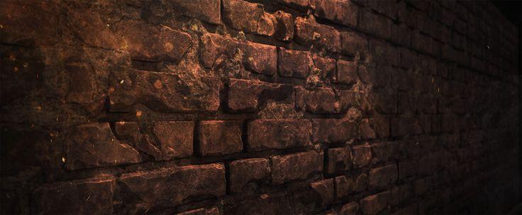 Tiled Bricks, Mikhail Fomenko on ArtStation at https://www.artstation.com/artwork/bOqxG