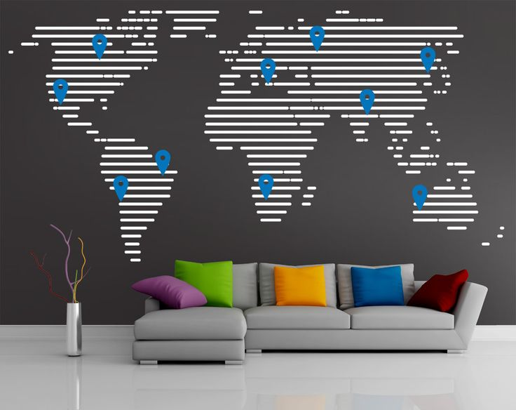 11 best Project       Sydney Corporate Map Wall images on Pinterest - fresh google world map offline
