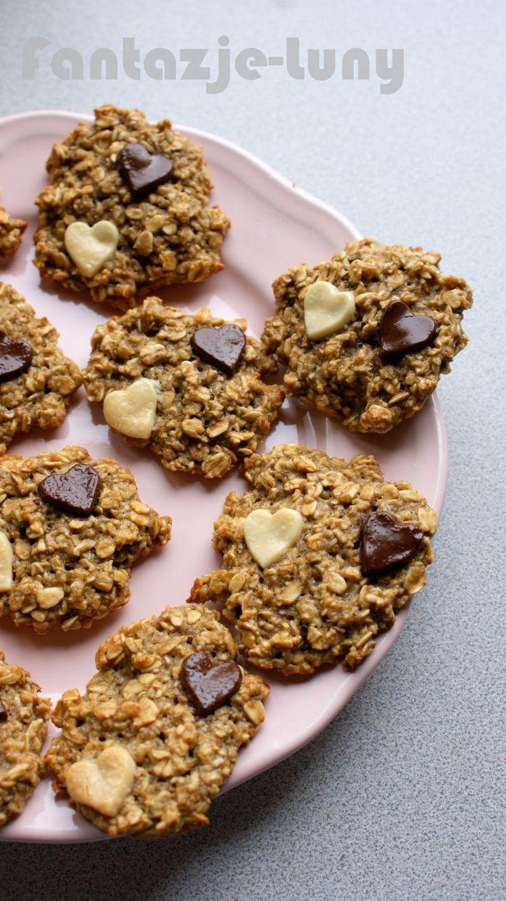. Najpyszniejsze dietetyczne przepisy w internecie! Dietetyczne dania, zdrowa żywność, zdrowe życie!: Dietetyczne, zdrowe i wyśmienite ciasteczka z bananem