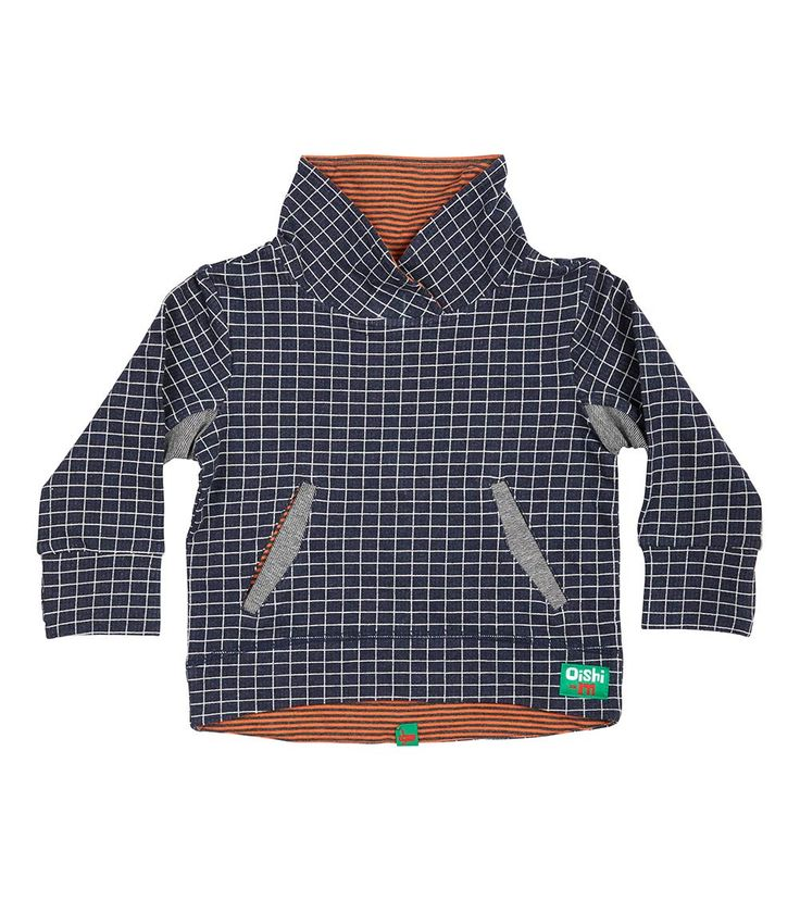 Asher Pullover, Oishi-m Clothing for kids, Autumn 2017, www.oishi-m.com