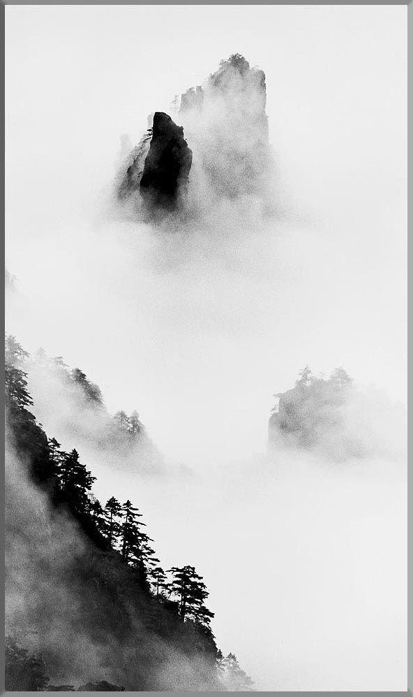 Huang Shan series from Wang Wusheng 汪 蕪生 ワン ウーシェン
