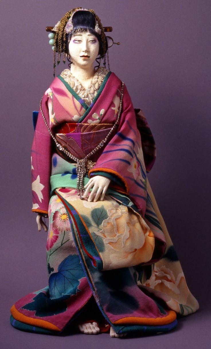 Jusaburo Tsujimura. 辻村寿三郎 マダム貞奴の画像 | 辻村寿和Collection「寿三郎」創作人形の世界