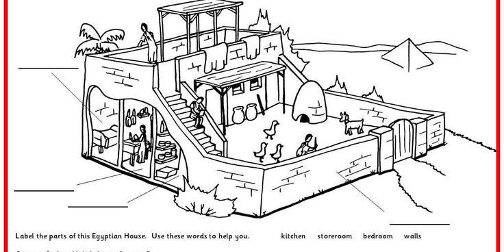 Ancient Egyptian House - Classroom Secrets | Classroom Secrets