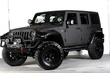 Jeep Wrangler Unlimited with Kevlar Paint