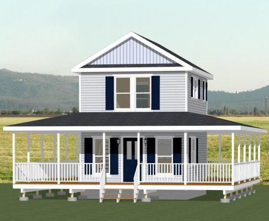 16x20 Tiny Houses PDF Floorplans House PlansShed
