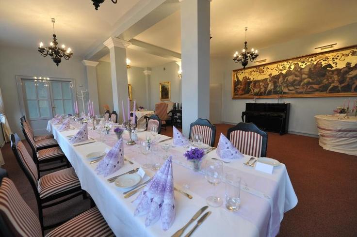 El restaurante del castillo de Melnik