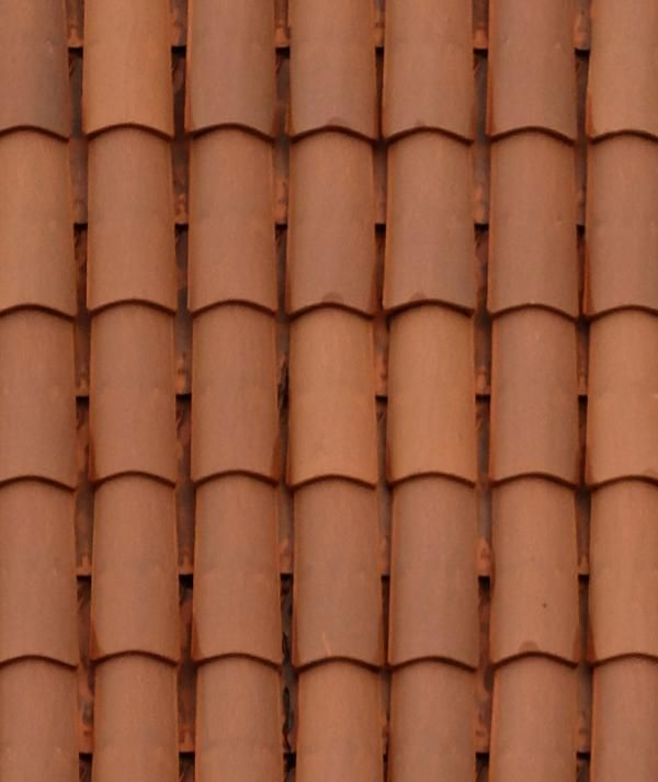 ceramic roof tile seamless texture