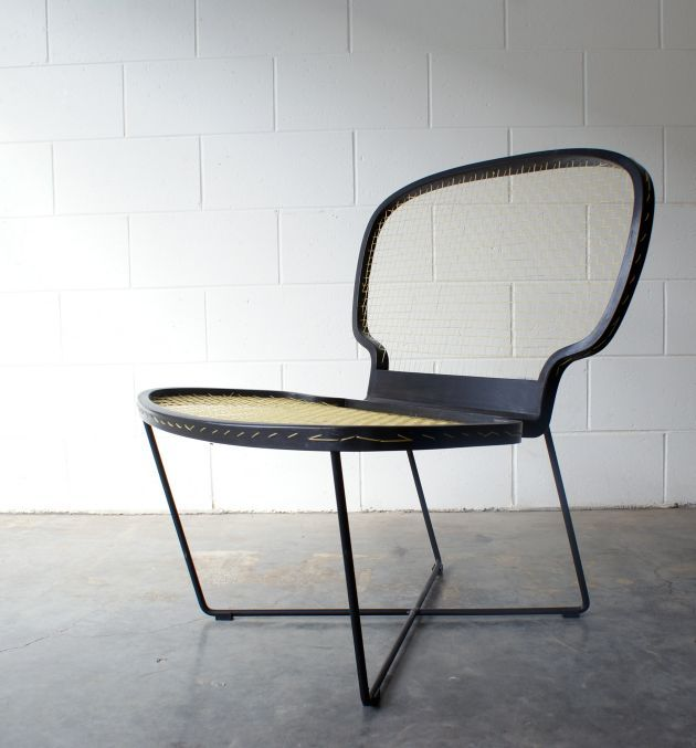 The Ace Chair by Punga & Smith-Inspiration from standard tennis racket
