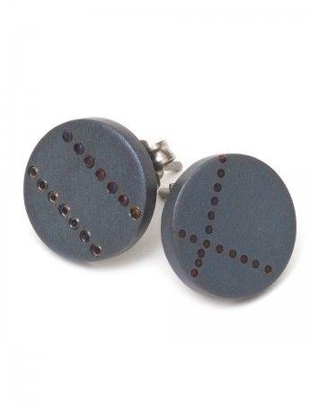 Blue Grey earrings
