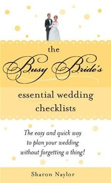 In addition to her wedding planner, every bride needs this checklist book to keep track of the thousands of details of planning a wedding...  Busy Bride's Essential Wedding Checklists by Sharon Naylor. Buy this eBook on #Kobo: http://www.kobobooks.com/ebook/Busy-Brides-Essential-Wedding-Checklists/book-h6BVND25XUW3cuAsrltZ_Q/page1.html #wedding