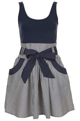 **Scoop Back Dress by Annie Greenabelle - Dress-topshop