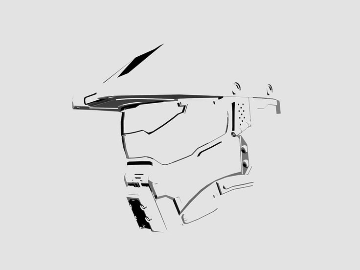 Master Chief - Minimal by Ion