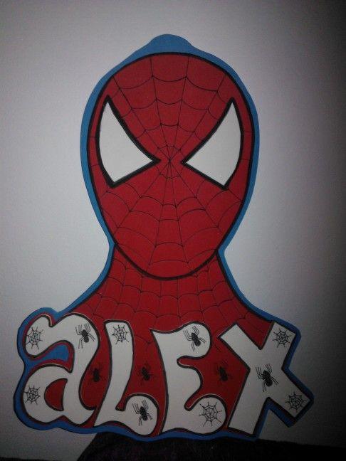 Fofuchas laestrellarosae, cartel spiderman.