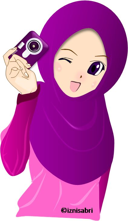 Anime muslim hijab picture
