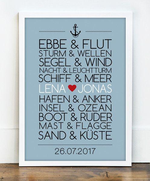 Spruch hochzeit schiff