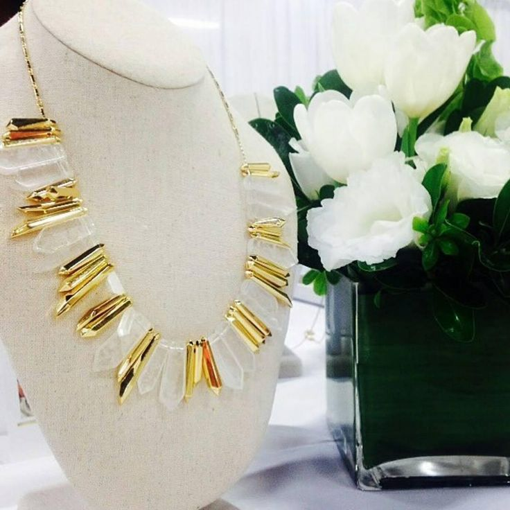This Rebel Stone Statement  is Everything!!!! Delicate and bold all in one...truly a treasure designed by Stella & Dot!