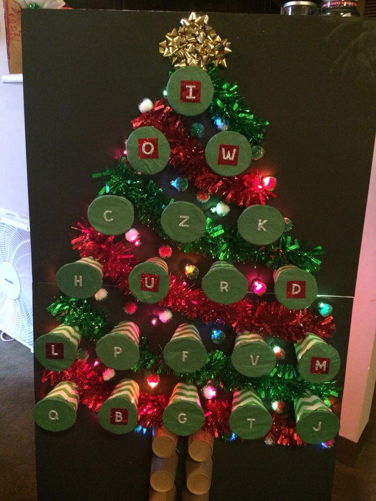 Christmas Tree Punch Game Kindergarten Fun Things I Ve