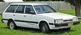 1994 Subaru L Series Deluxe Sportswagon station wagon.jpg Third generation of Subaru Leone.