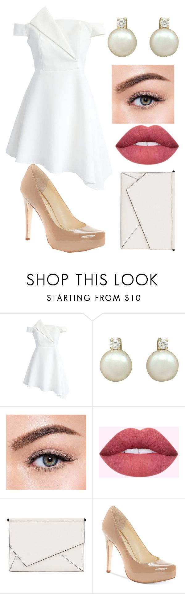 """""""Pretty & Pure"""" by zeldawarrior on Polyvore featuring Chicwish, Morphe, Kendall + Kylie and Jessica Simpson"""