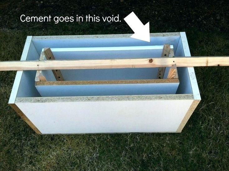 Lightweight Concrete Planters Diy Planter Box Ideas Molds 400 x 300