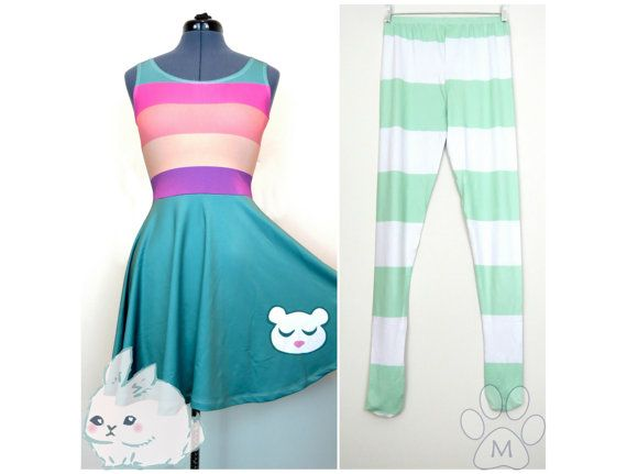 Rainbow Dress Princess Star Butterfly Cosplay Kit by MinZandBunni