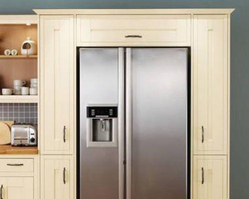 fridge freezer into a larder unit (not these units or fridge)