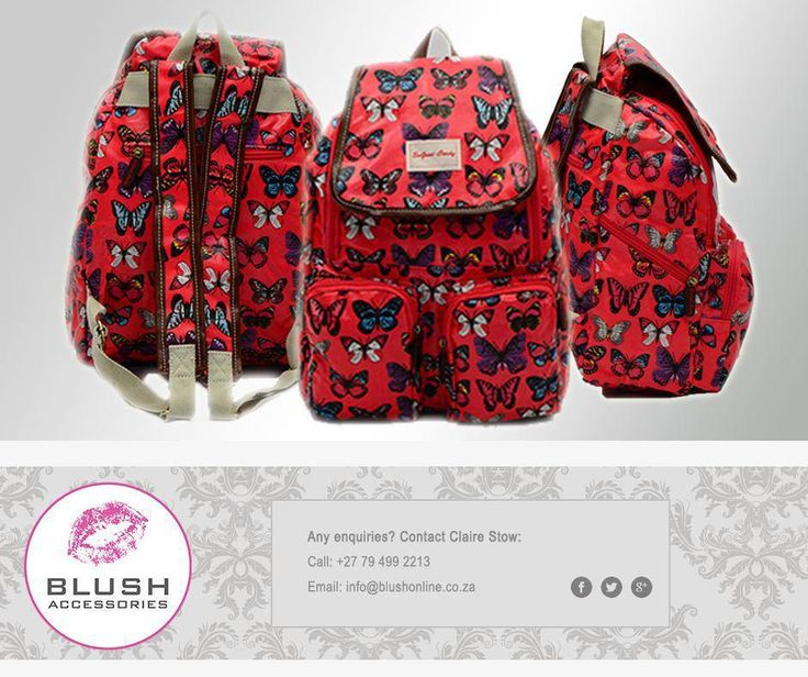 #Blush has a wide range of #SoGoodCandy backpacks in various designs and colours for all fashionable woman. Get down to a Blush store near you and check it out! #backpacks #fashionista