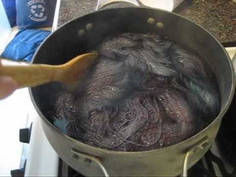 ▶ Breaking Grape Kool-Aid on 100% Wool Yarn - YouTube