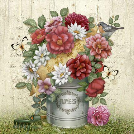 Litoarte flores
