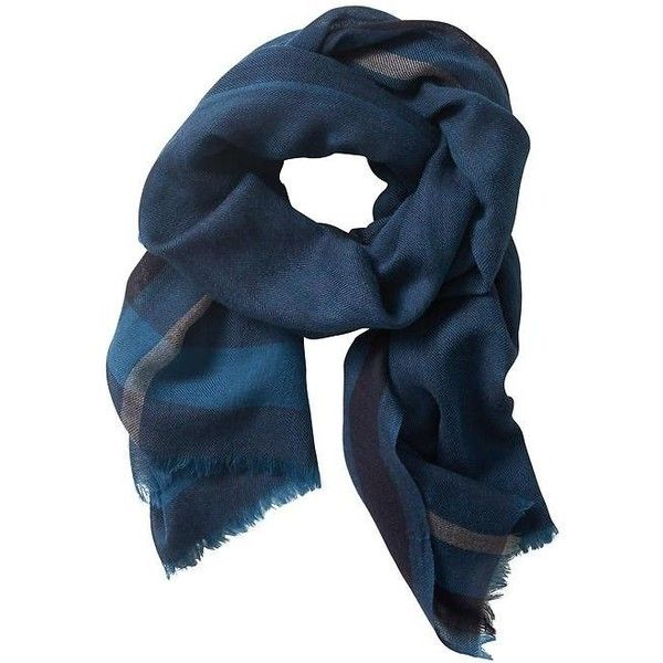Banana Republic Mens Wool Blanket Scarf (3.800 RUB) ❤ liked on Polyvore featuring men's fashion, men's accessories, men's scarves, blue, mens blanket scarf, mens scarves, mens wool scarves and banana republic mens scarves
