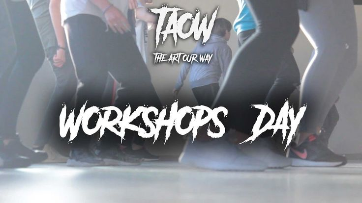 WORKSHOPS DAY / The Art Our Way 2k17