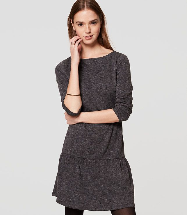 Primary Image of Cozy Flounce Dress