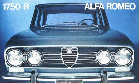 Alfa Romeo 1750 Berlina - brochure