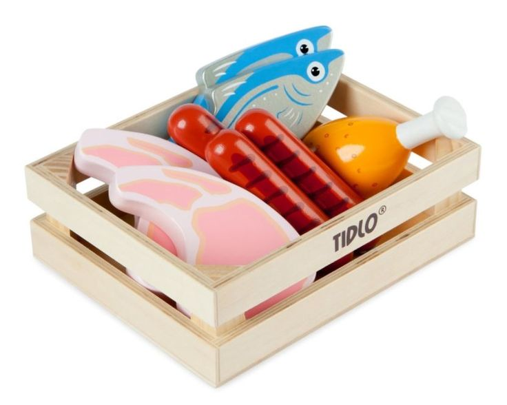 Tidlo Wooden Meat and Fish (affiliate link)