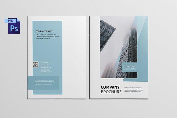 Company Profile Brochure by GraphicGrape on @creativemarket