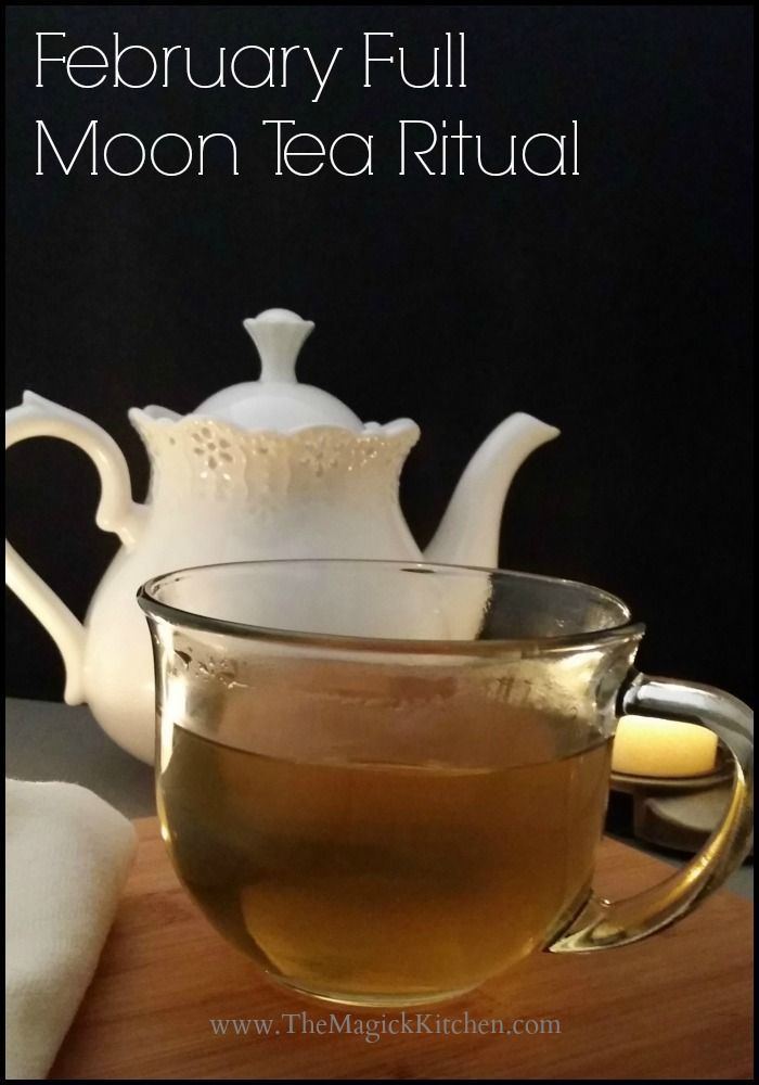 The Magick Kitchen  Feb Full Moon Tea Ritual  It says February but I bet it could be tweeked for any month!