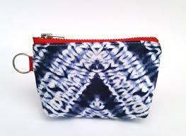 Resultado de imagen para bolsas de tela shibori