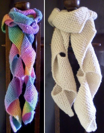 Free Knitting Pattern For Twisted Scarf : Best 25+ The fold ideas on Pinterest