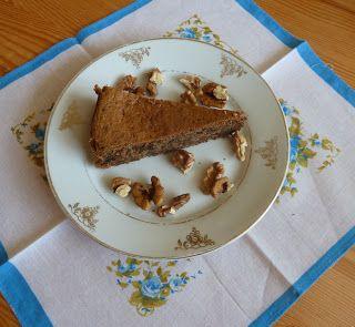 smaki życia Ewy: Ciasto orzechowe bez mąki