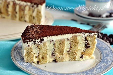 reverse tiramisu cake