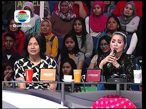 Mamamia Indosiar 2014 Angel Komentar Juri @ Konser Nominasi 8 Oktober 2014