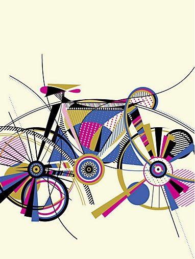 Anne Ulku - Illustrator - Minneapolis, MN - bicycle illustration
