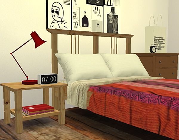 Pure Sims: IKEA inspired bedroom • Sims 4 Downloads