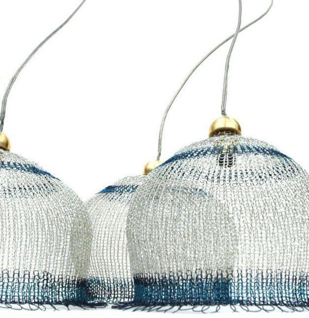 Video+PDF Anleitung Lampenschirm aus Draht häkeln
