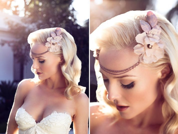 Bridal Hairstyle With Rose : 17 best rose gold wedding images on pinterest
