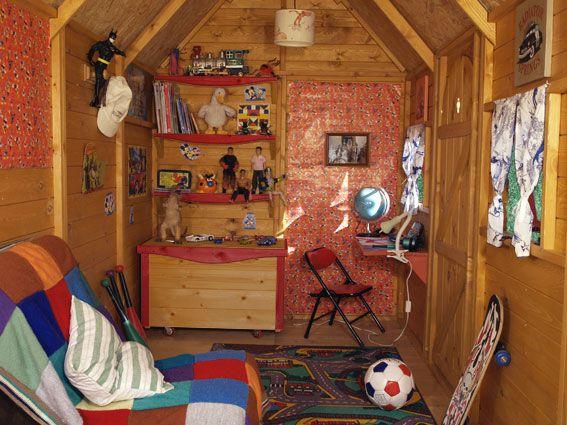 61 Best Playhouse Ideas Images On Pinterest Garden Sheds
