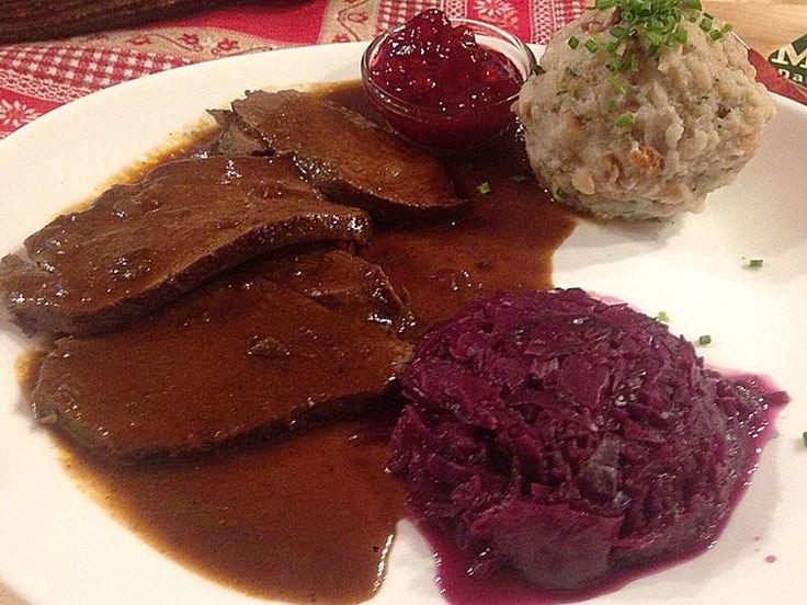 Rezept Rehbraten