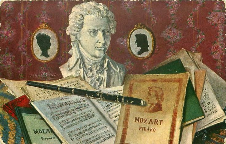 Wolfgang Amadeus Mozart ~ R. Bodlander