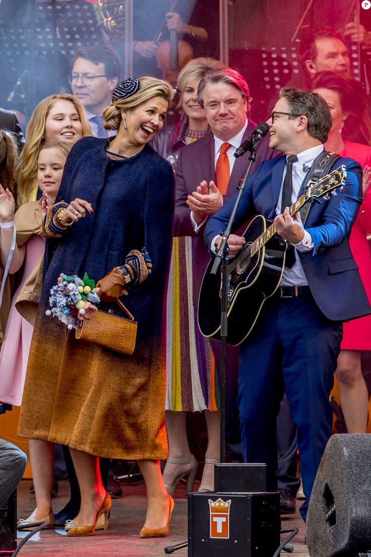 Queen Maxima of the Netherlands attends the King's 50th birthday during the Kingsday celebrations on April 27, 2017 in Tilburg, Netherlands.