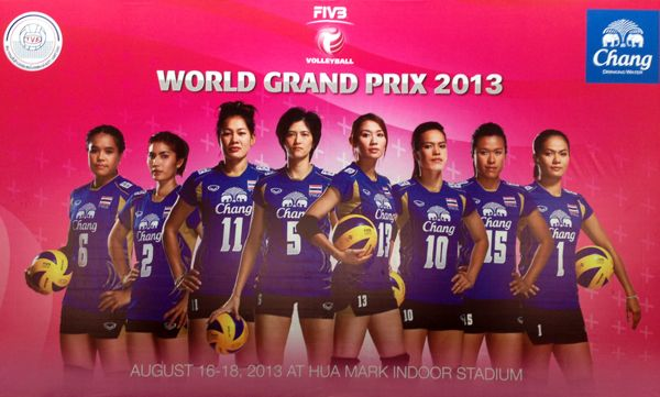 Women's Volleyball World Grand Prix 2013 - Bangkok, THA